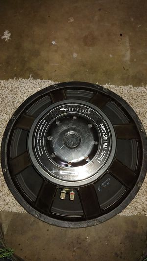 "Eminence 18"" Pro audio subwoofer, 1200 watts rms for Sale in Grants Pass, OR"