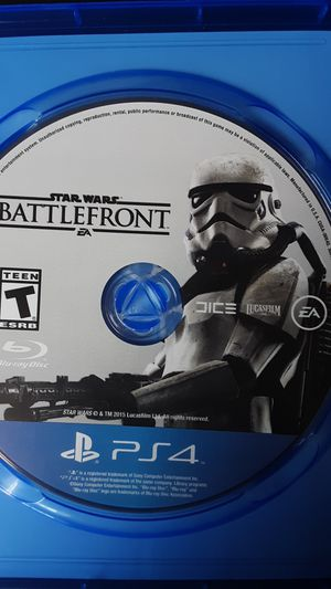 PS4 Star wars battefront for Sale in Mableton, GA