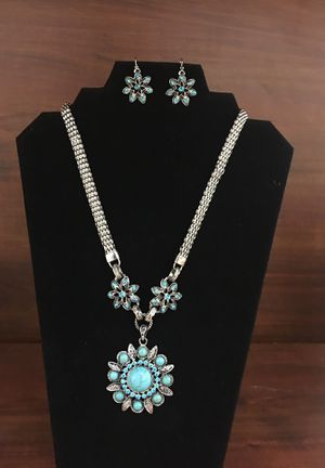 Turquoise set for mothers day for Sale in Fort Belvoir, VA