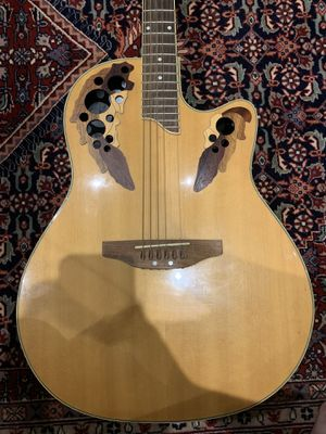 Ovation Celebrity Elite Acoustic-Electric Guitar (strings are broken) for Sale in Fort Belvoir, VA