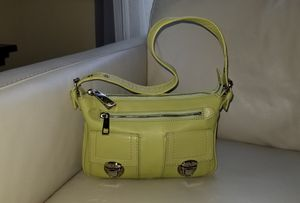 Marc jacobs small green soft leather designer bag made in italy for Sale in Sammamish, WA