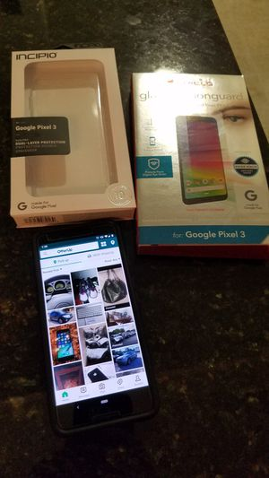 Google Pixel 3 128GB w/case and screen protector for Sale in Arlington, VA