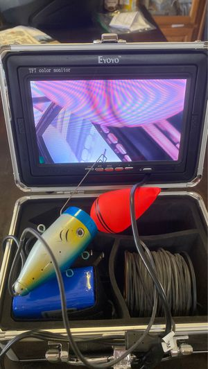 eyoyo underwater fishing camera 30m for Sale in Riverside, CA