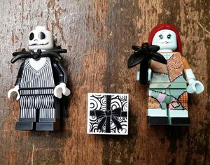 Nightmare before Christmas Jack & Sally Lego minifigures for Sale in Everett, WA