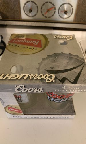 Coorslight pub glass collection for Sale in undefined