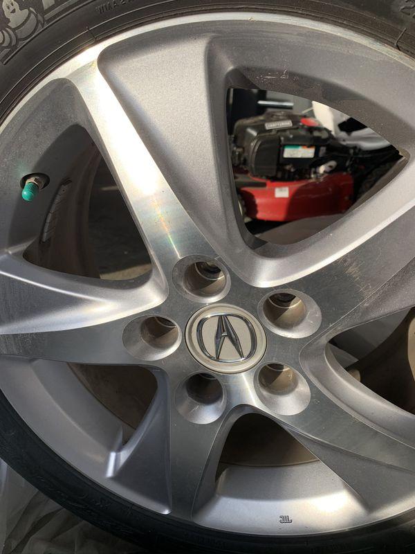 2011 Acura TSX stock Rims and Michelin's Tire
