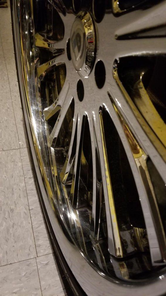 20 inch ashanti rims and tires
