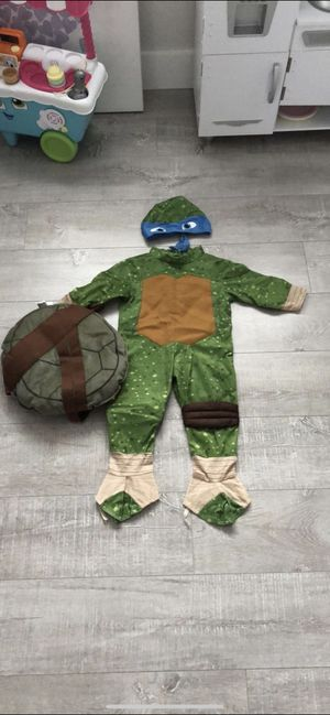 Nina turtle costume size 2T for Sale in Hialeah, FL