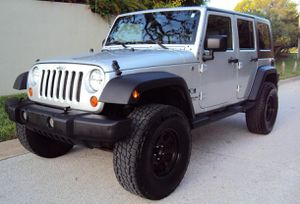 JEEP WRANGLER 07 // UNLIMITED X EDITION *SILVER* GREAT for Sale in Dallas, TX