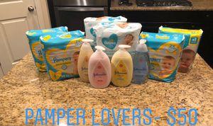 Pampers/ Huggies baby care bundles! for Sale in Spring, TX