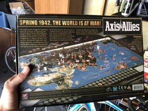 Axis and allies board game for Sale in Sterling Heights, MI