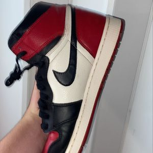 Jordan 1 Bred Toes for Sale in Arlington, VA