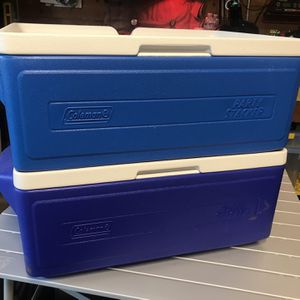 Coleman Party Stacker Coolers (Pair) for Sale in Colma, CA