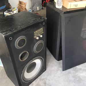 Acoustic Response-Series 707 Floor Speakers for Sale in Carlsbad, CA