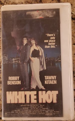 White Hot vhs movie Robby Benson Tawny Kitaen for Sale in Three Rivers, MI