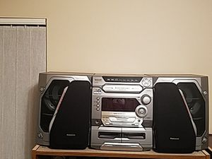 Panasonic CD Stereo System for Sale in Port St. Lucie, FL