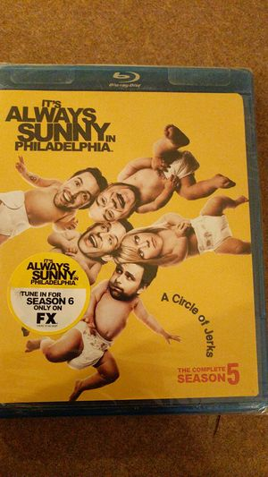 Complete It's always Sunny in Philadelphia season 5 bluray for Sale in Yuma, AZ