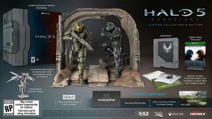 Halo 5 Guardians Collectors Edition for Sale in Salt Lake City, UT