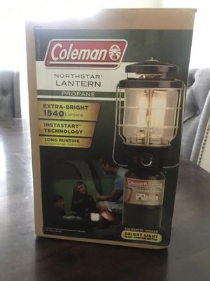Coleman Northstar propane lantern for Sale in Clayton, NC