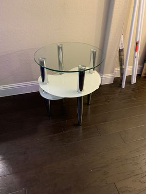 Retro glass coffee and side table for Sale in Wylie, TX
