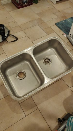 Used kitchen double sink for Sale in Riverside, CA
