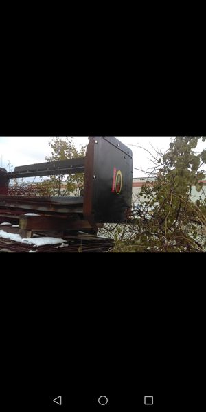 Skidster/bobcat snow pusher 10ft for Sale in Justice, IL