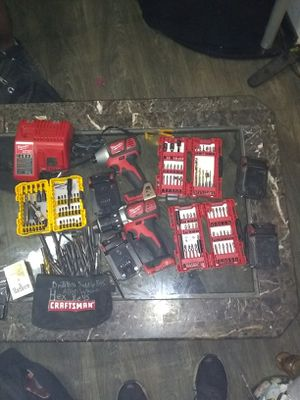 18 volt milwaukee drill set for Sale in Mesquite, TX
