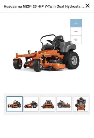 Husqvarna MZ54 25 -HP V-Twin Dual Hydrostatic 54-in Zero-Turn Lawn Mower for Sale in Dedham, MA