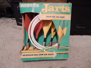 Regent jarts lawn darts complete in box for Sale in McFarland, WI