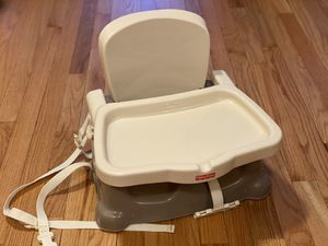Booster seat with eating tray for Sale in Alexandria, VA