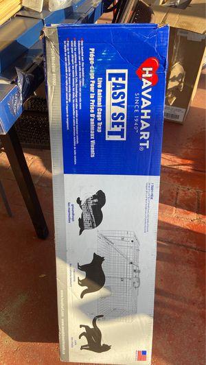 Live animal cage trap for Sale in Wildomar, CA