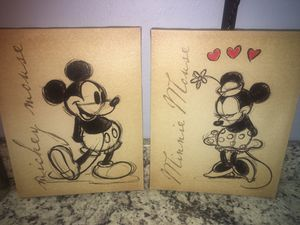 Mickey and Minnie Mouse for Sale in Navarre, FL