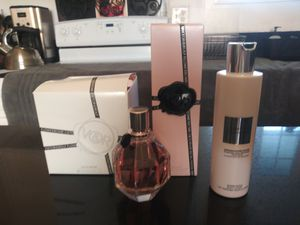 Viktor & Rolf Flower Bomb Perfume & Body Lotion for Sale in Vancouver, WA