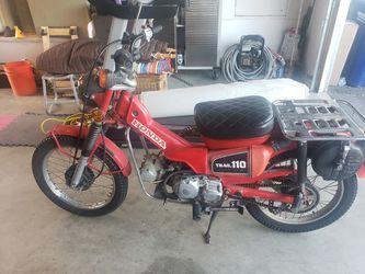 Honda CT110   for Sale in Fallbrook, California