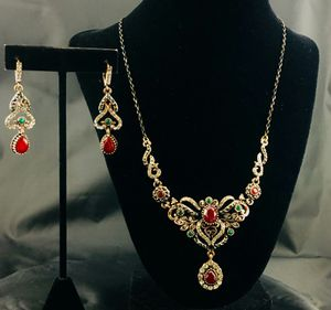Rhinestone Holiday Necklace Set plus charm for Sale in Artesia, CA