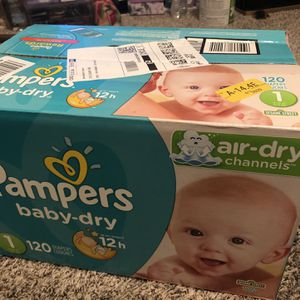 Size 1 Diapers for Sale in Sanger, CA
