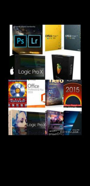 $10 PHOTOSHOP CC LIGHTROOM, LOGIC PRO X, MICROSOFT OFFICE, FRUITY LOOPS OR ANYOTHER PROGRAM PC OR MAC! $10! IRVING ARLINGTON DALLAS DUNCANVILLE for Sale in Duncanville, TX