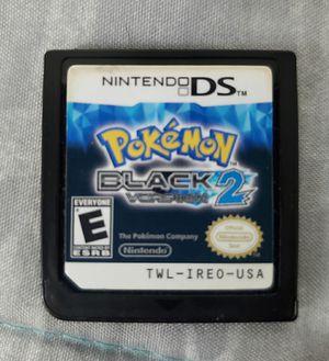 Nintendo DS Pokemon Black Version 2 for Sale in Fresno, CA