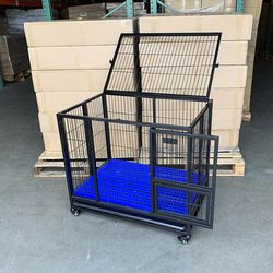 brand new $130 heavy duty dog crate cage, 37x25x33 inches for Sale in Whittier,  CA