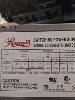350w Power Supply for Sale in Satsuma,  FL