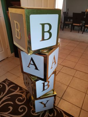 BABY shower letters for Sale in Duncanville, TX