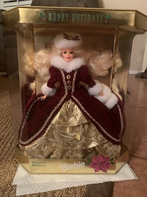 RARE 1996 HOLIDAY BARBIE SPECIAL EDITION BRAND NEW for Sale in Fontana, CA