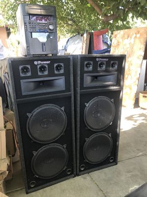 QPower DJ Speakers for Sale in Modesto, CA