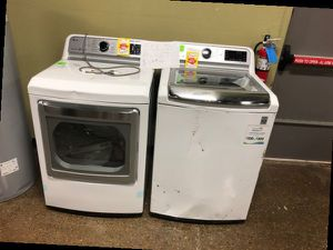 Brand New LG Top Load Washer/Dryer Set ZUI79 for Sale in San Bernardino, CA