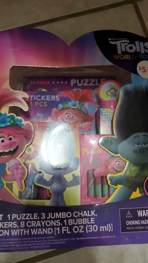 Trolls coloring set for Sale in Miami, FL
