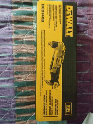 DeWalt 20 VMax 3/8 right angle drill/driver for Sale in Everett, MA