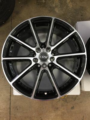 "Brand New 17"" Inch Diablo D16 Black Machined 17X7.5 Wheels Rims Rines 5X100 5X3.94 5X114.3 5X4.5 for Sale in Austin, TX"