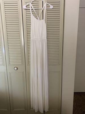 WHITE MAXI DRESS for Sale in Modesto, CA