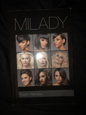 Milady exam review book for Sale in Odessa, TX