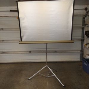 Projector Screen for Sale in Snowflake, AZ